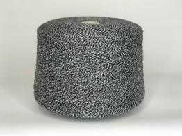 New mill Velox 725м/100 грамм черно-белый меланж