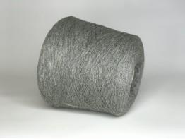 100% кашемир Loro piana cashmere 2/27 классический серый