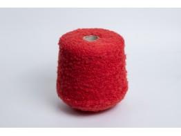 Меринос 61%, альпака 35%, па 4% Art. Alpsfur коралловый красный букле