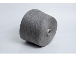 Кашемир 50%, шёлк 50% new mill art. Cashm/seta 2/28 серый меланж