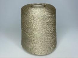 Вискоза 78%, ацетат 12%, люрекс 10% Art. STRASS сливочное золото