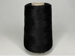 Вискоза 64%, пл 36% Art. DOMASO черный с черным люрексом