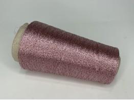 Вискоза 64%, пл 36% Art. DOMASO пудра с розовым люрексом