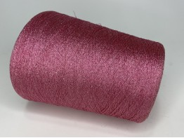 Вискоза 78%, ацетат 12%, люрекс 10% Art. STRASS розовый с серебром