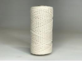 Макраме 3 мм шнур 100% хлопок натуральный
