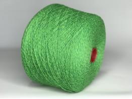 Меринос 100% Art. SUPERGEELONG MOULINE салатово-зеленый меланж