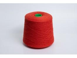 100% меринос Supergeelong Botto Poala красно-оранжевый меланж