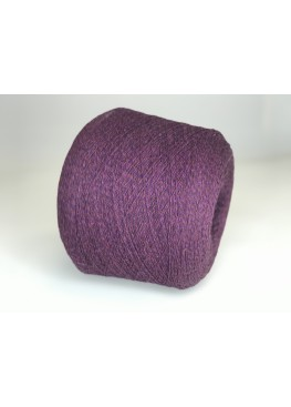 Меринос 80%, па 20% Nuvola Superlana 3/15 розово-фиолетово-коричневый меланж