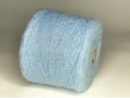 Супер кид-мохер 50%,шёлк 25%,па 20%,люрекс 5% Art. Senso голубой