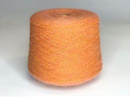 Кид-мохер 45%, меринос экстрафайн 25%, па 30% оранжевый меланж
