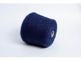Кид-мохер с мериносом Italy Stock 280м/100 грамм темно-синий меланж