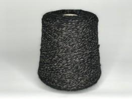 Кид-мохер Millefifi WENDY 430м/100 грамм черно-кофейно-молочный меланж