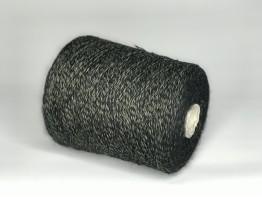 Кид-мохер Millefifi WENDY2 430м/100 грамм черно-оливковый меланж